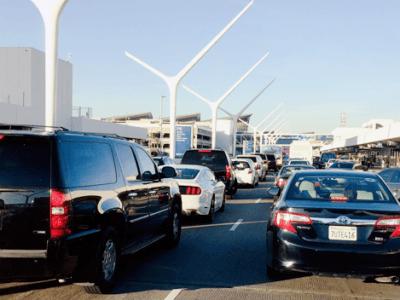 LAX Traffic car service to lax