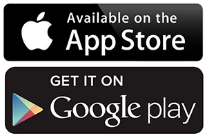 apple mobile app and google app image
