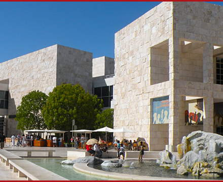 car service to the getty museum